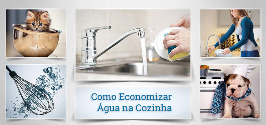 Como Economizar Água na Cozinha em Casa