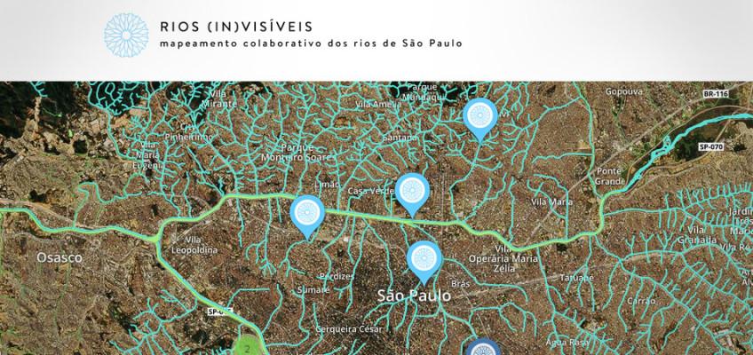 Rios Invisíveis, Mapeamento Colaborativo dos Rios de São Paulo